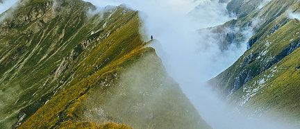PREMIUM ALUMINUM DIBOND Mountain Clouds