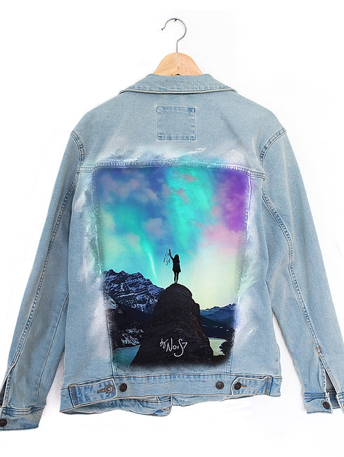 Jeans Jacket Dreamcatcher