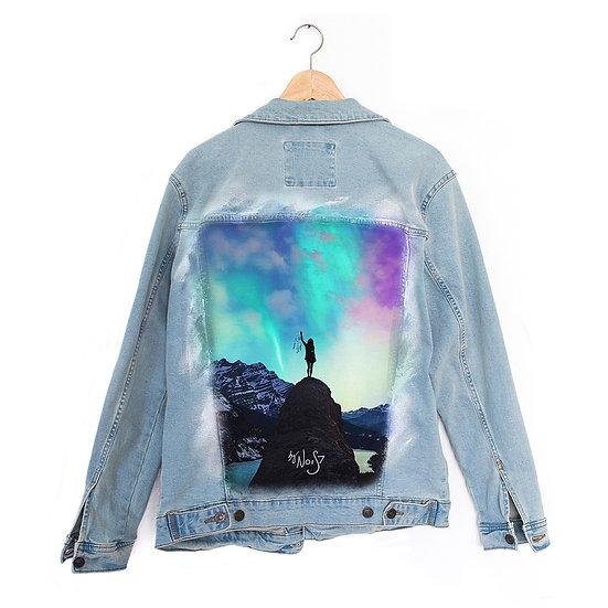 Jeans Jacket Dreamcatcher