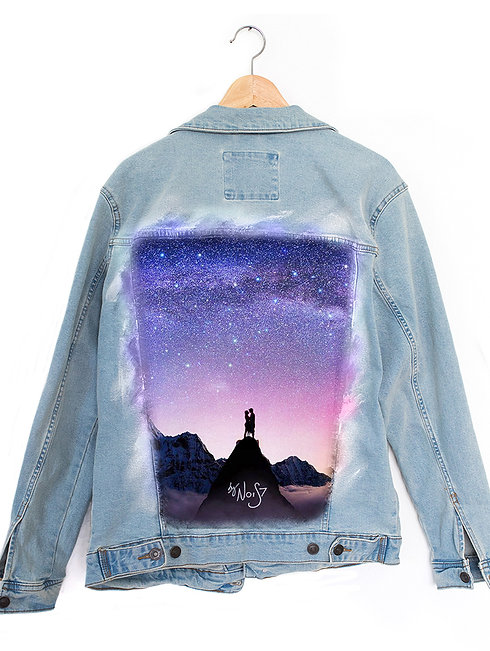Jeans Jacket Mount Everest
