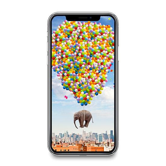 NYC Elephant Smartphone Wallpaper