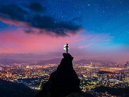 ACRYLIC GLASS ON ALUMINUM BASE The Boy and the Moon