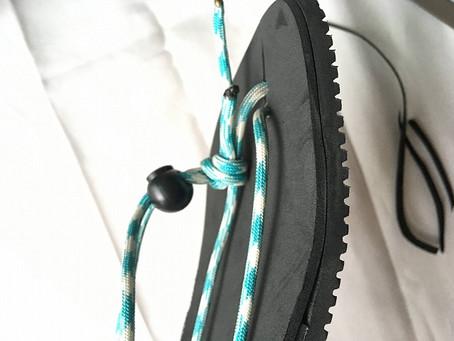 ワラーチを履くと足が痛い!?簡単で接着剤を使わないクッション補強で対策を!
