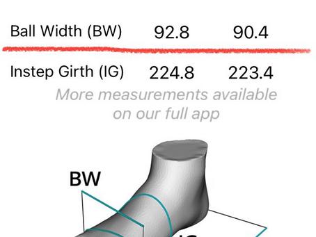 遠方でも大丈夫!無料足計測アプリでワラーチを作る?
