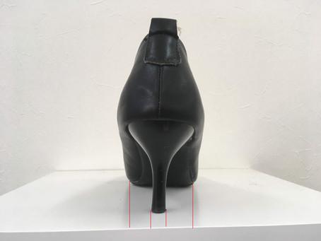 靴の安定性に大切な2つの条件