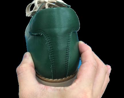 靴の価値はカカトで決まる