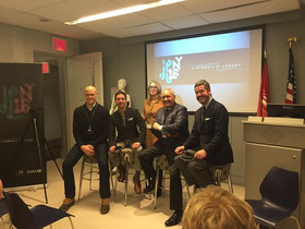 """A panel discussion with my Bergdorf and Ralph Lauren colleagues at the """"In Pursuit of Luxury&qu"""