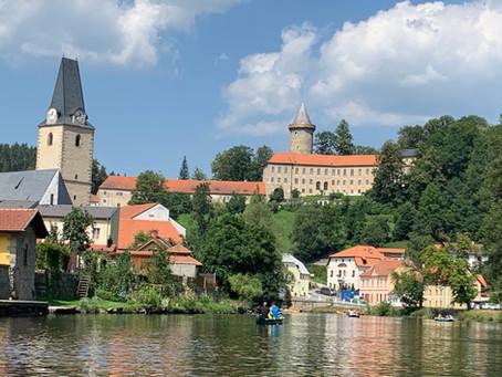 A fairy tale castle in Bohemia: Rosenberg