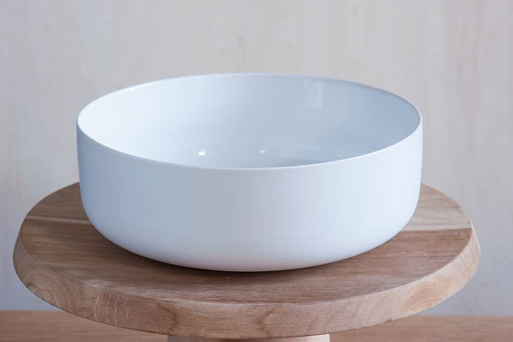 WHITE PORCELAIN BOWL | M