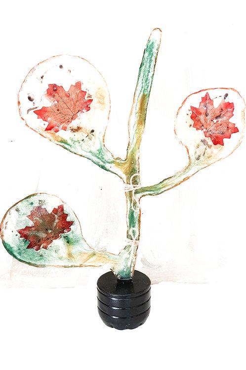 Flower resin
