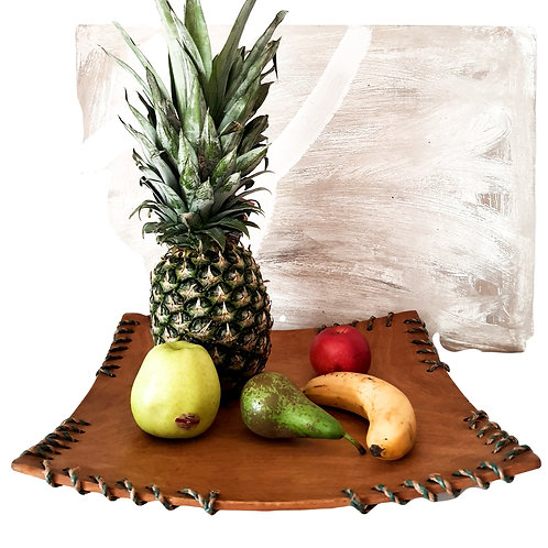 Schale aus afrikanischen Holz