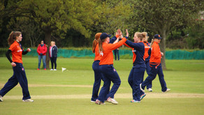 Cambridgeshire vs Netherlands   - a great day for women's cricket at Bluntisham CC!
