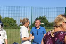 Charlotte and Junior coach Steve Dighton