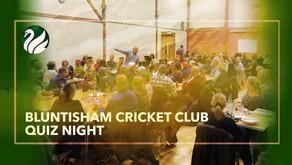 Bluntisham Cricket Club Quiz - enter NOW!