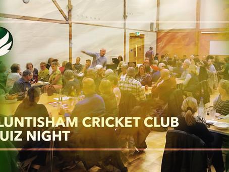 Cricket Club Quiz POSTPONED