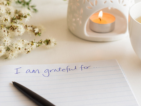Self Care: Gratitude Journals & Jars