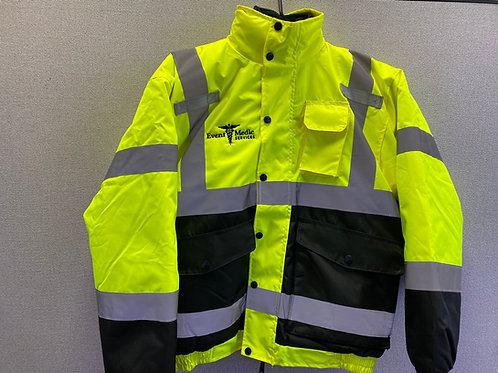 EMS Safety Yellow Jacket - UtilityPro