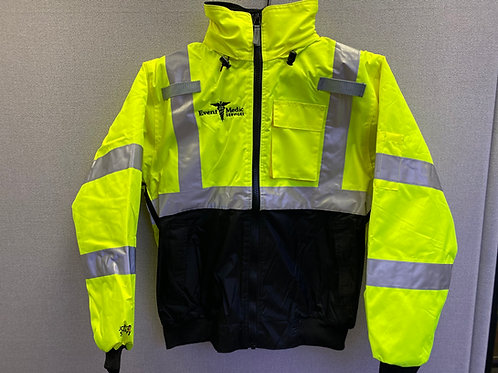 EMS Safety Yellow Jacket - Fleece Lining