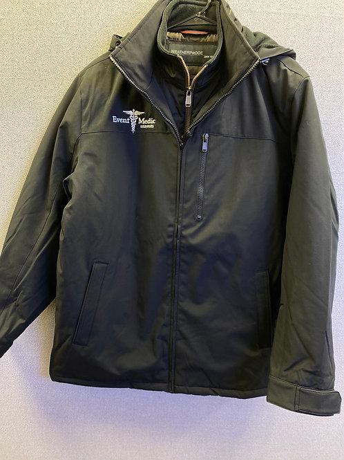 Black Event Medics WeatherProof Coat