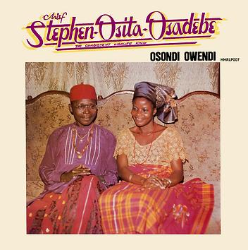 Chief Stephen Osita Osadebe Osondi Owendi album cover