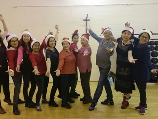 Hikmat Chinese Line Dancing Group turn Festive!!!