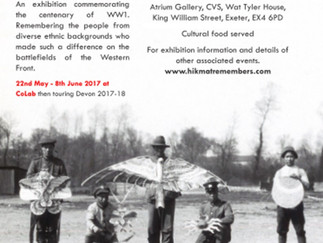 Hikmat Remembers The First World War Exhibition Launch