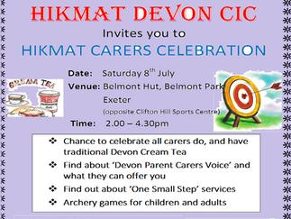 Hikmat carers celebration