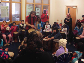 Families…Drumming & Healthwatch…