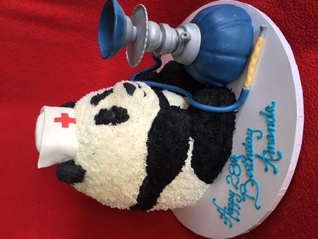 Panda smoking a Hookah