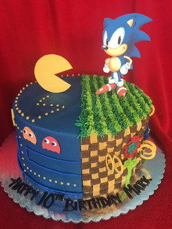 Pacman and Sonic