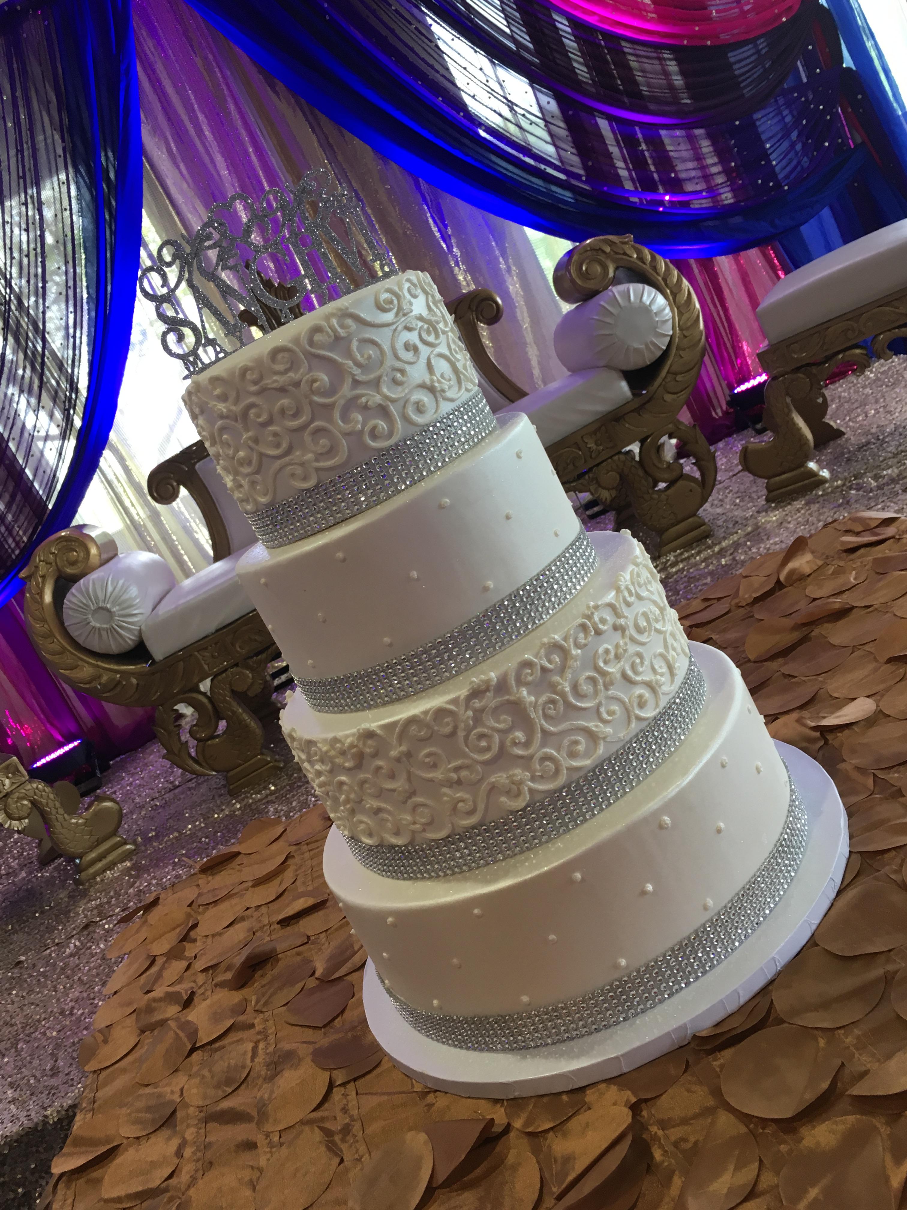 Dahra's Bling Wedding