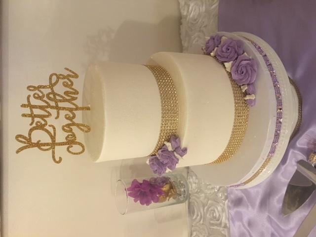 Crystal & Marvin Lavender Wedding