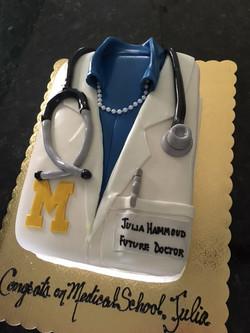 UofM Doctor Coat