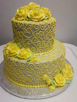 Yellow and Cream