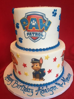 Paw Patrol Tiered