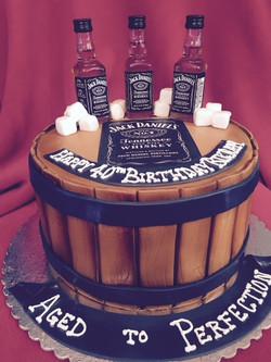 Jack Daniels in a Barrel