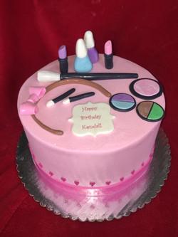 Littlr Girl Makeup Party