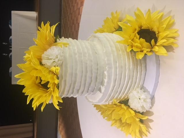 Sarah and Patrick Sunflower Wedding