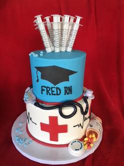 Graduating Nursing School