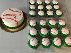 Baseball Cupcakes and Smash