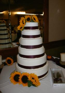 Natalie's Sunflower Cake