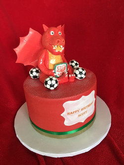 Dragon and Soccer