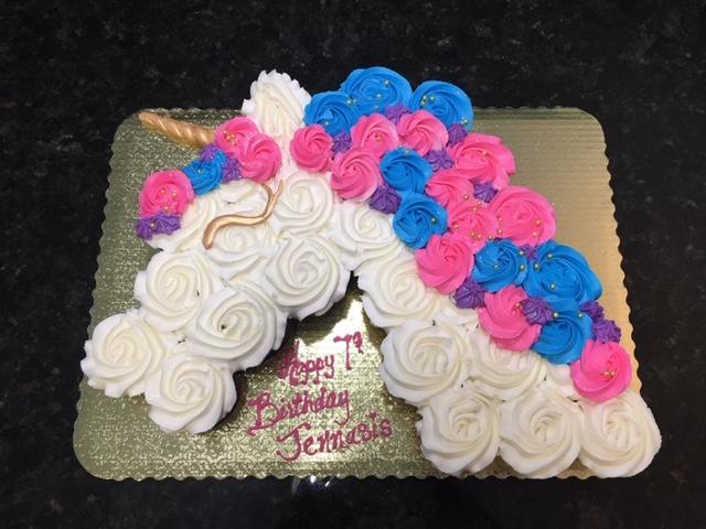 Unicorn Cupcake Pullapart