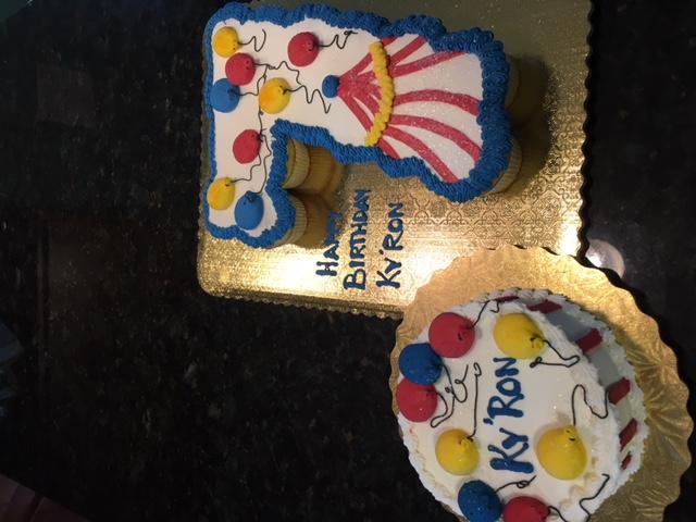 Carnival Cupcake 7
