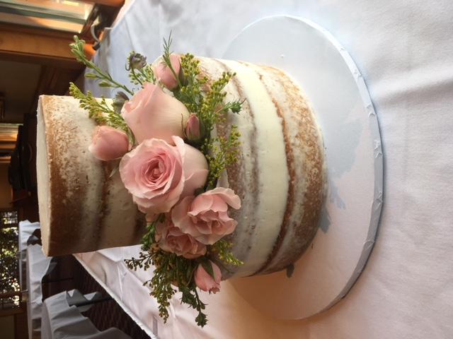 Julie & Brian Naked Cake