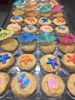 Beach Party Cupcakes