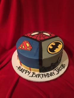 Superheros Batman Superman Spiderman