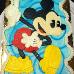 Mickey cc cake