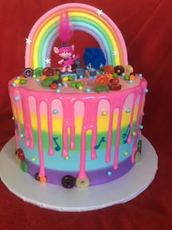 Trolls Rainbow and Drip