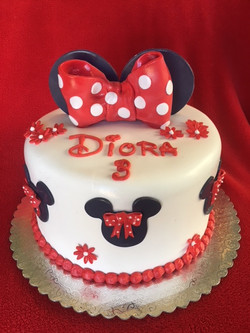 Minnie Mouse in Red